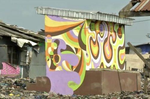 Article : L'art contre la destruction des bidonvilles